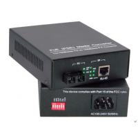 PSE POE Industrial Media Converter 100Base-FX Media Converter WIth Shielded RJ-45