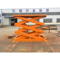 China Hydraulic Fixed Scissor Goods  Lift Table on sale