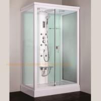 Buy cheap 1200 x 800mm rectangular steam shower bath cabin computer controlled from wholesalers