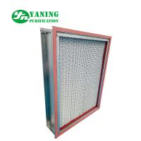 Wholesale Glass Fiber Media HEPA Air Filter Oven Equipment SS304 High Temperature Resistance from china suppliers