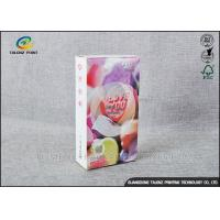 Wholesale Embossing Paper Cosmetic Packaging Boxes CMKY Pantone Printing OEM Accepted from china suppliers