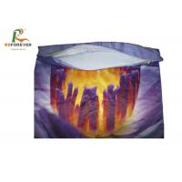 China Various Styles Smooth Custom Printed Clothing Purple Throw Pillow Covers 3D Printing on sale