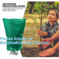 Wholesale Warm Cover Tree Shrub Plant Protecting Bag Frost Protection Yard Garden Winter Drawstring Mesh Net Garden Plant Cover from china suppliers