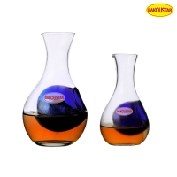 Wholesale Whiskey Wine Ice Separation Glass Decanter 250ml 500ml from china suppliers