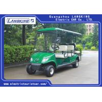 China Battery Powered Road Legal Electric Golf Carts For 6 Person Max. Speed 24km/h on sale