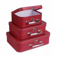 Buy cheap Eco Friendly Suitcase Gift Paperboard Small Accessories Cardboard Storage Boxes from wholesalers