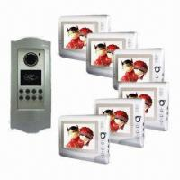 Wholesale Video Intercom System/Video Door Phone with 7 Inches Color Monitor, Audio/Video and Swiping Card from china suppliers