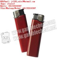 Wholesale XF brand newest dark red plastic lighter IR camera for marked playing cards and poker analyzer from china suppliers