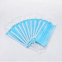 Wholesale Lastic Earloops Disposable Medical Face Mask 3 Ply Spun Polypropylene Food Processing from china suppliers