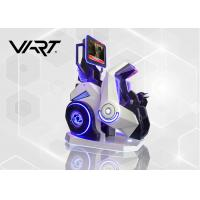 China 1 Player VR Motion Chairs / 360 Degree Roller Coaster Seat With Safety Belt on sale