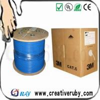 Wholesale Outdoor FTP cat5e lan cable with messenger from china suppliers
