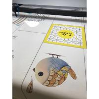 Wholesale CO2 LASER CUTTING MACHINE For customzied sublimation  door curtain; portiere; curtain; tent from china suppliers