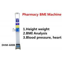 Wholesale Pharmacy Height And Weight Measuring Scale With Blood Pressure Machine DHM - 600B from china suppliers