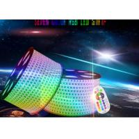 Wholesale Ip67 Led Rgb Strip Lights , 80ra High Voltage Led Strip Extremely Luminous from china suppliers