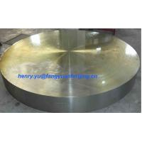 Buy cheap Tube Sheet Double Stainless Steel Forged Disc 1.4462, F51, S31803; F60, S32205; from wholesalers