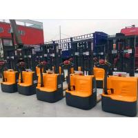 Quality Walkie Type Full Electric Pallet Stacker For Narrow Aisle 24V / 105Ah for sale