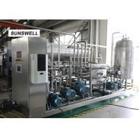 Buy cheap Soft drink infusing machine  with 15C filling carbon mixer used in beverage making production line from wholesalers