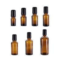 Wholesale Amber Essential Oils 10ml Perfume Roller Bottles With Screw Cap from china suppliers