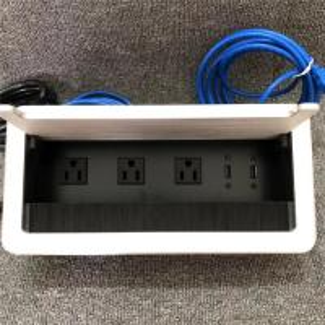 Buy cheap Custom Plastic USB 3.0 Desktop Power Socket US Standard For Residential from wholesalers