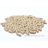 Wholesale No GMO Wheat Gluten Pellet protein, Slightly Yellowish No Smell 4mm Pellets from china suppliers
