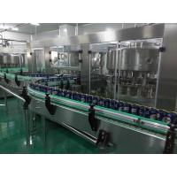 Buy cheap Low Noise Carbonated Soft Drink Production Line Stainless Steel 5000 Cans Per from wholesalers