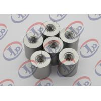 Wholesale 6061 T6 Metal Machined Parts  Anodizing Flat Head Aluminum Nuts With M5 Threaded from china suppliers