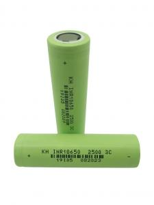 Wholesale High Power 3.7 V 2500mAh 18650 Lithium Ion Battery from china suppliers