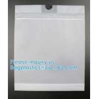 Wholesale 100% ECO-Friendly Men'S Underwear Storage Packing Pouch Bag With Hanger Hook, Garment Packaging Bag Swimsuit Bag from china suppliers
