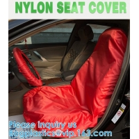 Wholesale Universal Reusable Nylon Car Seat Cover custom logo for car front seat to keep car clean Water resistant UV Protection from china suppliers