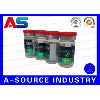 Buy cheap Professional Prniting Of 10ml Vile Labels And Cartons Hologram Laser Printing from wholesalers