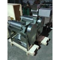 Wholesale Screw Press Crusher And Fruit Industrial Juicer Machine For Pineapple , Ginger , Garlic from china suppliers