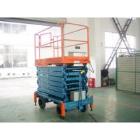 Wholesale Motorized scissor lift with loading capacity 1000Kg and 12M Lifting Height from china suppliers