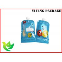 lamimated material leak proof custom plastic  spout pouch with drink  packaging
