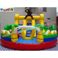 Wholesale Outdoor Kids 1000D, 18 OZ PVCTarpaulin Inflatable Amusement Park Games for Re - sale from china suppliers