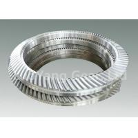 Quality Forged Steel Helical Bevel Pinion Gear Wheel , Metallurgy Drive Mechanical Gears for sale