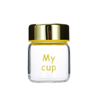 Buy cheap 150ml 200ml Edible Glass Honey Jars Round Shape Custom Logo from wholesalers