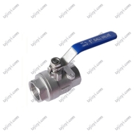 Wholesale High quality 2 pcs female thread flat lever handle cf8m stainless steel ball valve from china suppliers