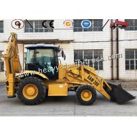 Buy cheap Compact Front And Backhoe Loader Integral Chassis 2.5 Ton 100hp SAM388 from wholesalers