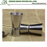 Buy cheap Stainless steel Cocktail measuring cup set double jiggers Bar measures tools15ml from wholesalers