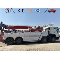 Buy cheap Sinotruk 30 Ton Road Block Removal Flatbed Wrecker Tow Truck 8x4 Type from wholesalers