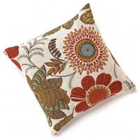 """Wholesale Gerbera Chenille 18""""x18"""" Square Colorful Floral Throw Pillow , Decorative Couch Pillows from china suppliers"""