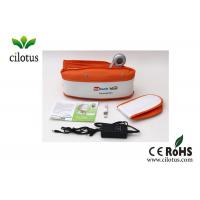 China Heat function Body Vibrating slim belt massager With Auto / Manual Mode on sale