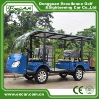 Buy cheap G1S8 Disabled Electric Sightseeing Bus With USA Curties Controller 300A from wholesalers