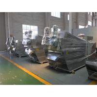 Wholesale Filter Press Sludge Dewatering Machine For Oil Sludge Separator , Stainless Steel from china suppliers