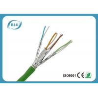 Twisted Pairs Ethernet Cat6a Lan Cable For Computer High Frequencies