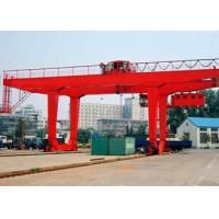 Wholesale Mobile Container Gantry Crane Double Girder RMG 35 Ton With 23 28 35m Span from china suppliers