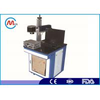 Wholesale Portable Mini 10W / 20W Fiber Laser Marking Machine With Galvanometer from china suppliers