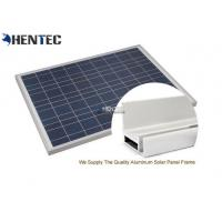 Wholesale CA And CE Aluminum Solar Panel Frame 6063-T5 With Oxidized / Anodizing from china suppliers