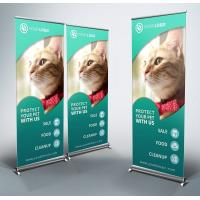 Buy cheap 80*180cm Size Roll Up Banner, Adjustable Aluminum New Type Banner Stand from wholesalers
