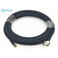 Buy cheap rf wifi antenna extension cable with RP SMA Male To N Male connector for LMR240 from wholesalers